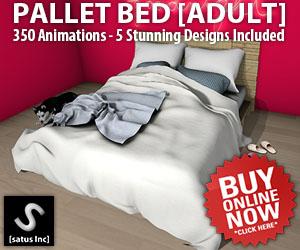 [satus Inc] Pallet Bed Adult 300×250