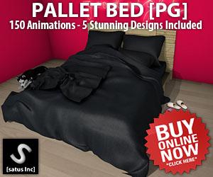 [satus Inc] Pallet Bed PG 300×250