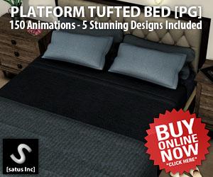[satus Inc] Platform Tufted Bed PG 300×250