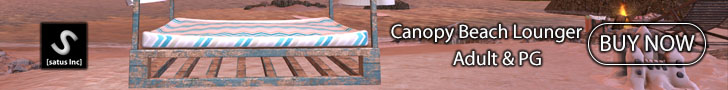 [satus Inc] Canopy Beach Lounger Adult & PG 728×90