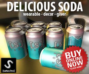[satus Inc] Delicious Soda 300×250