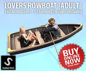 [satus Inc] Lovers Rowboat Ads 300×250