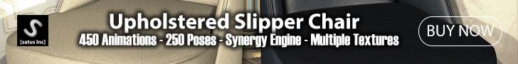 [satus Inc] Upholster Slipper Chair Header Ad 728×90