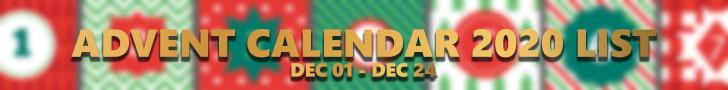 Advent Calendar 2020 & 12 Days of Chirstmas
