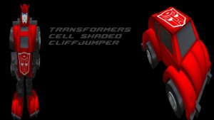 Transformers - Cell Shaded Cliff Jumper - teleporthub.com
