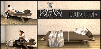 ~BAZAR~ Lounge sofa - teleporthub.com