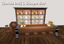 [satus Inc] L Shape Bar - teleporthub.com