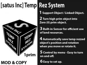 [satus Inc] Temp Rez System - teleporthub.com
