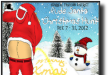Rude Santa Christmas Hunt - teleporthub.com