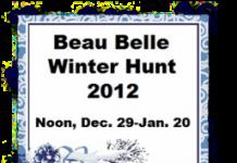 Beau Belle Winter Hunt 2012 - Teleport Hub - teleporthub.com