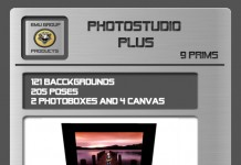 EMU Photostudio Plus (205 Poses, 121 Bgs) *SUPER PROMO* by EMU - Teleport Hub - teleporthub.com