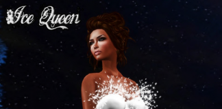 Ice Queen Dress Group Gift by Ydea - Teleport Hub - teleporthub.com