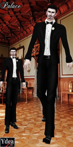 Palace Men Tuxedo December Group Gift by Ydea - Teleport Hub - teleporthub.com
