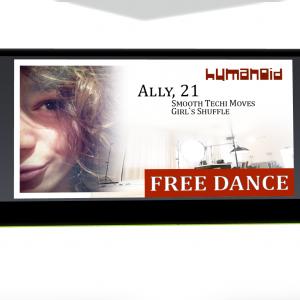 Humanoid - Ally 21 Dance Animation - teleporthub.com