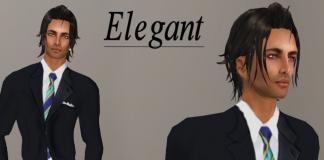 Elegant Tuxedo by QQ Fashion - teleporthub.com