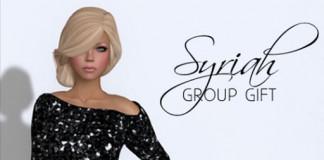 Syriah Mesh Dress by Amour Fashion - Teleport Hub - teleporthub.com