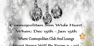 Cosmopolitan Sim Wide Hunt - Teleport Hub - teleporthub.com