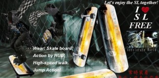 Skateboard High Speed Walker by Accelerate World - Teleport Hub - teleporthub.com