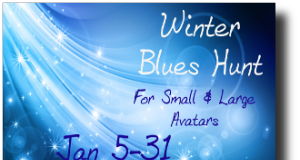 Winter Blues Hunt - teleporthub.com