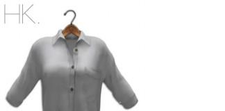 N1 Mesh Loose Shirt by HK - Teleport Hub - teleporthub.com