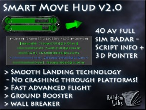Smart Move Hud - Advanced Flight Assist-40 AV Radar-Movement by Random Labs - Teleport Hub - teleporthub.com