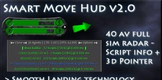 Smart Move Hud - Advanced Flight Assist-40 AV Radar-Movement by Random Labs - Teleport Hub - teleporthub.com