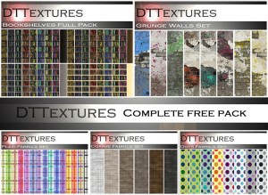 Complete Free Texture Pack by DTTextures - Teleport Hub - teleporthub.com