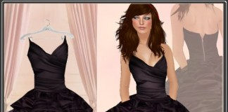 """Raven"" Short Party Dress by Dashwood - Teleport Hub - teleporthub.com"
