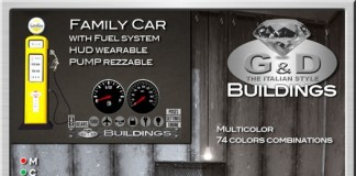 Mesh Family Car with Fuel System by G&D Buildings Gluka Kappler - Teleport Hub - teleporthub.com