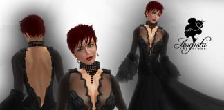 Halloween Diamond Italian Style Dress by Augusta Creations - Teleport Hub - teleporthub.com