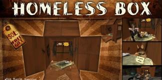 Homeless Box by Dirty Boxes -db- - Teleport Hub - teleporthub.com
