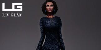 Jador Embellished Gown by *LIV-Glam* - Teleport Hub - teleporthub.com
