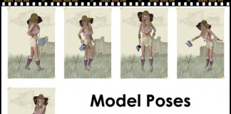 Plant Watering Pose by MODEL POSES - Teleport Hub - teleporthub.com