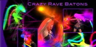 Crazy Rave Batons by JetCity - Teleport Hub - teleporthub.com