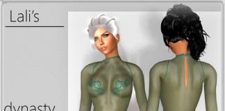 Rebecca Dynasty Nylon Body by Lali's Shiny Nylon - Teleport Hub - teleporthub.com