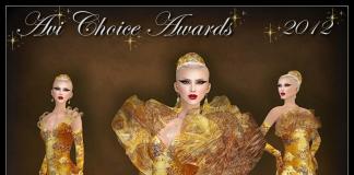 Avi Choice Awards 2012 Gown Group Gift by Sascha's Designs - Teleport Hub - teleporthub.com
