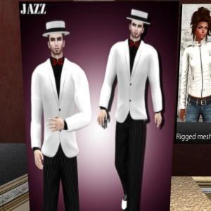 Jazz Tuxedo January Group Gift for Ydea - Teleport Hub - teleporthub.com