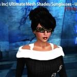 Ultimate Mesh Shades / Sunglasses - Unisex (15 in 1) by [satus Inc] - Teleport Hub - teleporthub.com