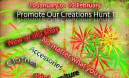 Promote Our Creations Hunt 1 - Teleport Hub - teleporthub.com