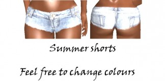 Summer Shorts by KOTEHOK Pixelmaid - Teleport Hub - teleporthub.com