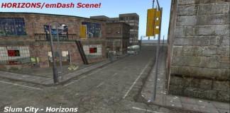 HORIZONS Scene - Slum City by Life Camino - Teleport Hub - teleporthub.com
