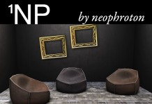 Leather Puff by 1NP - Teleport Hub - teleporthub.com
