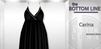 Carina Black Dress by The Bottom Line - Teleport Hub - teleporthub.com