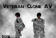 CC Veteran Clone Avatar by CC Factory - Teleport Hub - teleporthub.com