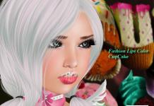 Fashion Lips Color CupCake & Chocolate Dipped Strawberry Group Gift by {AIMI} SKIN - Telelport Hub - teleporthub.com