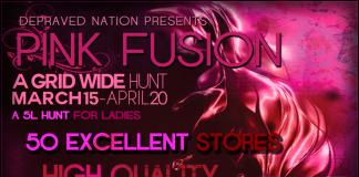 Pink Fusion Hunt - Teleport Hub - teleporthub.com