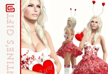 Female Valentine Group Gift by GIZZA CREATIONS - Teleport Hub - teleporthub.com