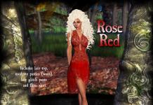 Rose Red Dress Group Gift by Graffitiwear - Teleport Hub - teleporthub.com