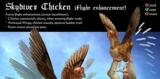Skydiver Chicken (Flight Enhancement) by AVALON Design - Teleport Hub - teleporthub.com