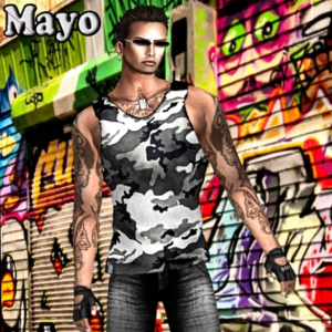 Mayo Male Outfit Group Gift by Ydea - Teleport Hub - teleporthub.com